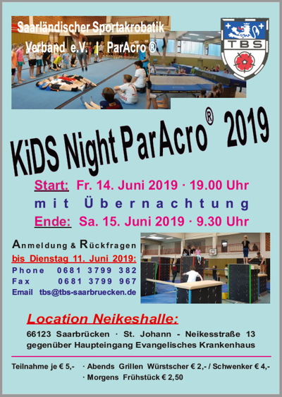Kids Night ParAkro 2019